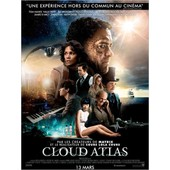Cloud Atlas -V�ritable Affiche De Cin�ma Pli�e -Format 120x160 Cm-De Lana Wachowski, Tom Tykwer, Andy Wachowski Avec Tom Hanks, Halle Berry, Jim Broadbent, Ben Whishaw, Jim Sturgess, Hugo Weaving-2013