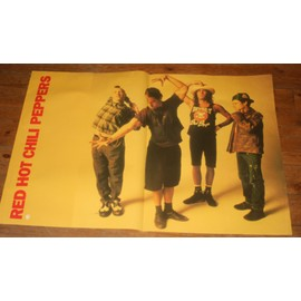 rare affiche poster 60x80cm red hot chili peppers