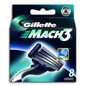 Gillette - 80201233 - Mach3 - Pack De 8 Lames