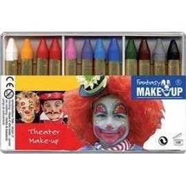 Kit 12 Crayons De Maquillage Fantasy Theater Make Up