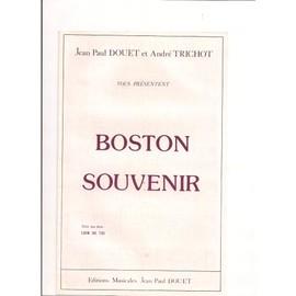 Boston Souvenir (valse lente) + en Bonus Loin de toi (boléro)