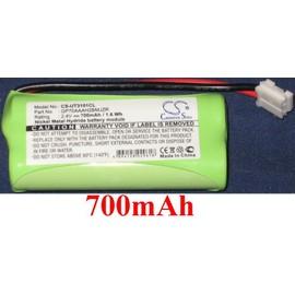 Batterie NiMH CS UT3101CL 700mAh 2.4V pour téléphone fixe