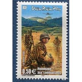 FRANCE ANNée 2004 N° 3667 NEUF** CINQUANTENAIRE DE LA BATAILLE DE DIËN BIËN PHU