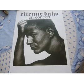affiche concert ETIENNE DAHO