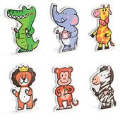 Janod Funny Magnets Animaux De La Jungle