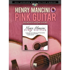 Henry Mancini : Pink Guitar - Guitar Solo + CD