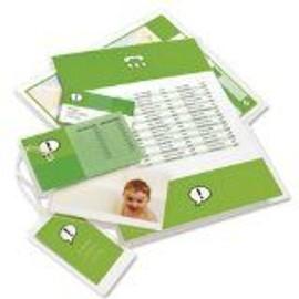 Gbc Pochettes A Plastifier, Format A4, Brillantes, 150 Mic