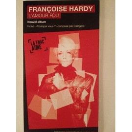 """PLV Françoise Hardy""""L'Amour fou"""""""