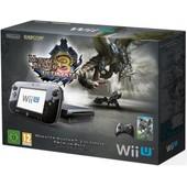 Nintendo Wii U Pack Monster Hunter Ultimate 32 Go Noir