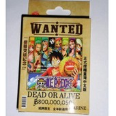 Jeux De Carte One Piece Wanted
