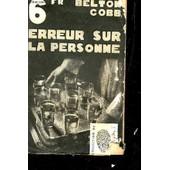 Erreur Sur La Personne - Collection L'empreinte. de Cobb Belton