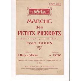 MARCHE DES PETITS PIERROTS
