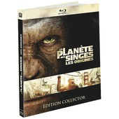 La Plan�te Des Singes : Les Origines - �dition Digibook Collector + Livret - Blu-Ray de Rupert Wyatt