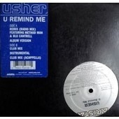 U Remind Me (Remix Radio Ft Method Man & Blu Cantrell, Album, Club Voc, Instru & A Cap) - Usher
