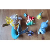 Lot De 5 Figurines Ariel La Petite Sir�ne