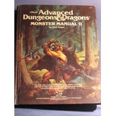 Monster Manual 2 Advanced Donjons & Dragons Vo 1�re �dition