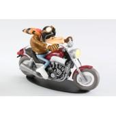 Moto 1/18 Yamaha 1200 Vmax Joe Bar Team