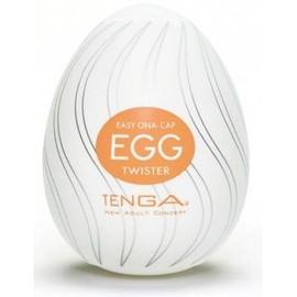 Masturbateur Tenga Egg Twister Orange