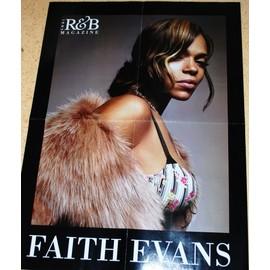 Poster Soul R&b FAITH EVANS / MARIO