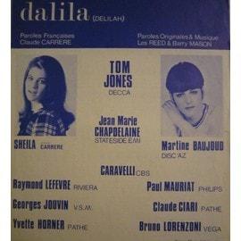 DALILA Tom Jones / Sheila