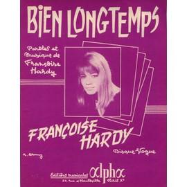 FRANCOISE HARDY  PARTITION  BIEN LONGTEMPS