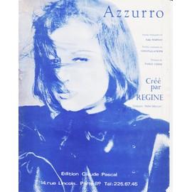 REGINE PARTITION AZZURO