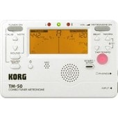 Korg Tm-50 Blanc - Accordeur Chromatique Et M�tronome