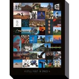 Pink Floyd Poster Reproduction Sur Toile, Tendue Sur Châssis - 40ème Anniversaire, Les Premiers Dans L'Espace (80x60 cm)