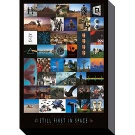 Pink Floyd Poster Reproduction Sur Toile, Tendue Sur Châssis - 40ème Anniversaire, Les Premiers Dans L'Espace (120x80 cm)