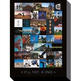 Pink Floyd Poster Reproduction Sur Toile, Tendue Sur Châssis - 40ème Anniversaire, Les Premiers Dans L'Espace (40x30 cm)