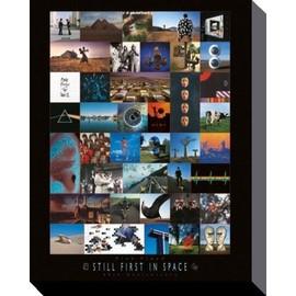 Pink Floyd Poster Reproduction Sur Toile, Tendue Sur Châssis - 40ème Anniversaire, Les Premiers Dans L'Espace (50x40 cm)