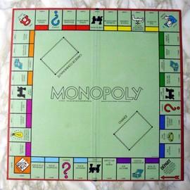 Plateau Monopoly 49x49 Cm