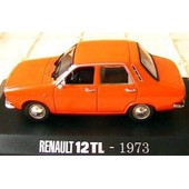 Renault 12 Tl 1973 Orange Norev 1/43 M6 Collections 12tl R12 Left Hand Drive