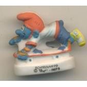 F�ve Schtroumpfs Peyo - Stroumpf Skateboard
