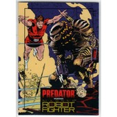 Predator Vs Magnus Robot Fighter Trading Cards