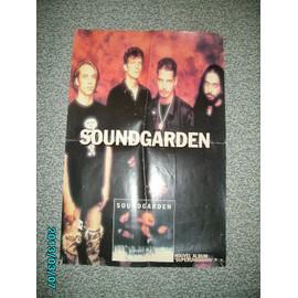 Chris Cornell Soundgarden Superunknown Poster 60X40