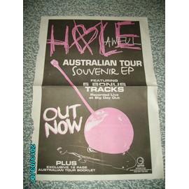 Courtney Love HOLE RARE Poster PROMO 40X28