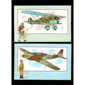 Lots De 23 Chromos Tintin Voir & Savoir Aviation 1939 / 1945