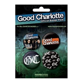 Official Badge Pack Good Charlotte