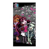 Monster High - Serviette De Plage 150 Cm
