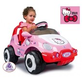 Injusa 71014 - Racing Car Hello Kitty 6v