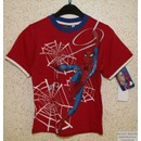 T-Shirt Tee Shirt Gar�on M/Courte Cars Disney Ou Spiderman Neuf Pierre-Cedric !! Tailles 2ans Au 8ans-100%Coton !! Expedition En 24/48hrs