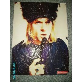 Kurt Cobain NIRVANA Silverchair Poster Rock Sound 56X41