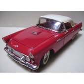 Revell - Ford Thunderbird 1955 Cabriolet Rouge / Hard Top Blanc - (55 T-Bird) - 1990 - Ech: 1/18 -
