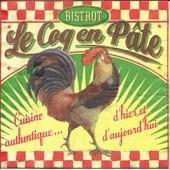 Lot De 2 Serviettes D�co Papier: Bistrot Le Coq En P�te