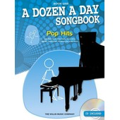 A Dozen A Day Songbook: Pop Hits - Book One + Cd