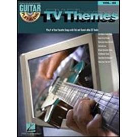 Guitar Play-Along Volume 45 TV THEMES + CD