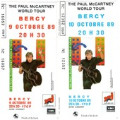 Concerts Paul Mac Cartney 9&10/10/89