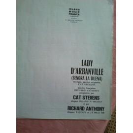 LADY D'ARBANVILLE / CAT STEVENS / RICHARD ANTHONY