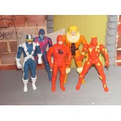 Marvel Lot 5 Figurines-Daredevil-Cyclop-Sabretooth
